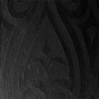 DUNI Elegance Serv.40x40 cm 1/4F. Lily schwarz