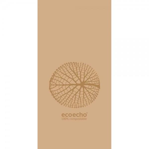 DUNI Zelltuch Serviette 40x40 cm 1/8F. Organic Braun