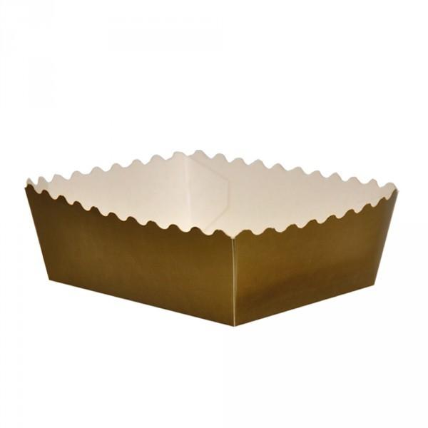 Gebäckschalen gold 150x140x46mm