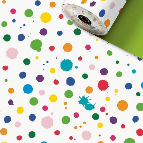 Geschenkpapier Rolle 50cm 50Meter Toto