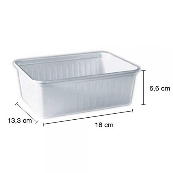 Verpackungsschale 1000ml. weiß MF 283902
