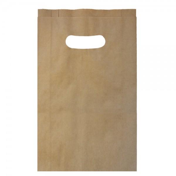 Grifflochtragetasche Papier 26x7x40cm
