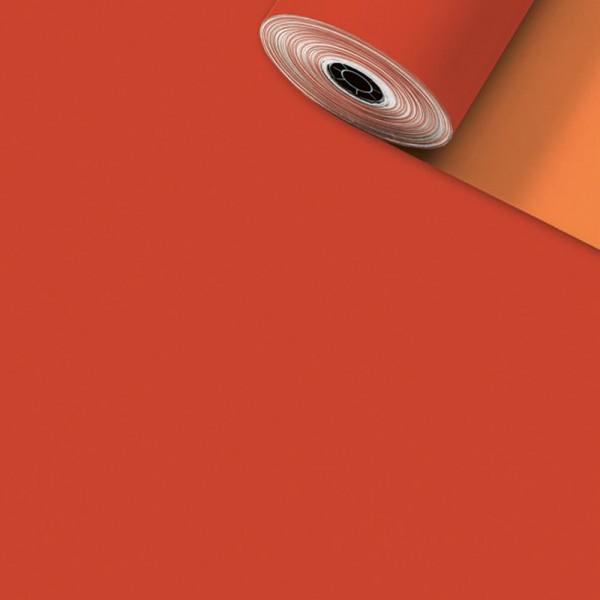 Geschenkpapier Rolle 50cm 200Meter Uni matt rot