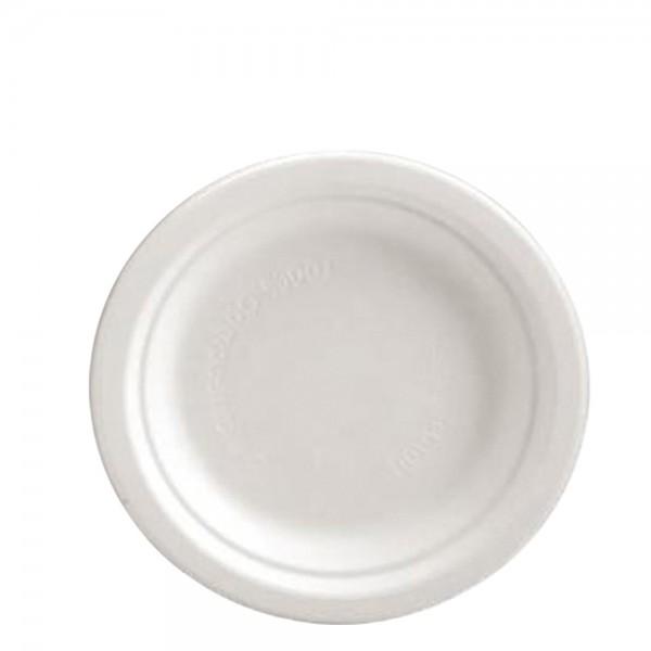 Teller ungeteilt weiß Ø 22,4 cm