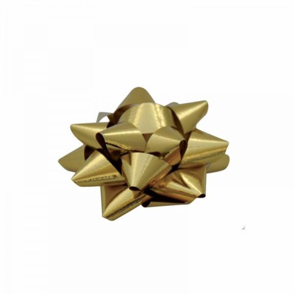 Fertigschleifen Ø7.5cm gold metallic 634