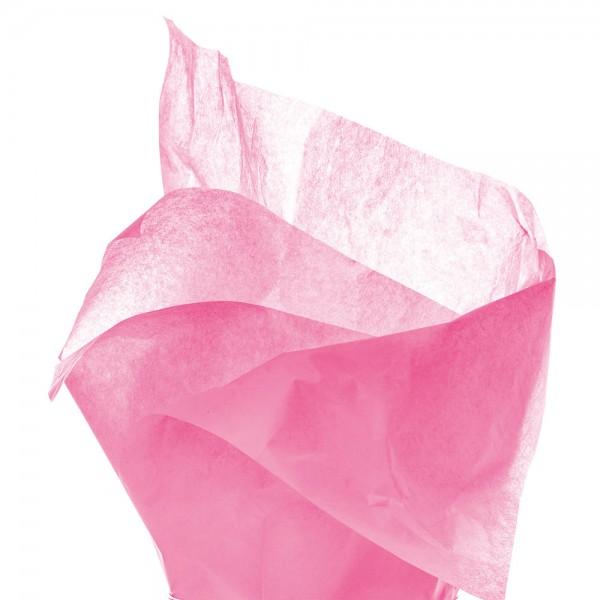 Seidenpapier Bogen 50x76 cm rosa