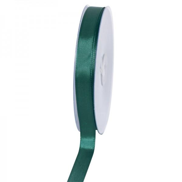 Geschenkband Grosgrain 16 mm/50Meter jägergrün