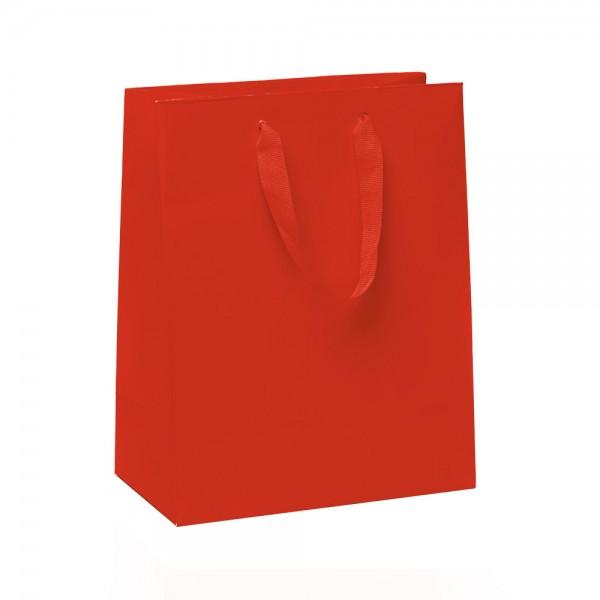 Kordel Tragetaschen 18x10x22,7+4cm rot