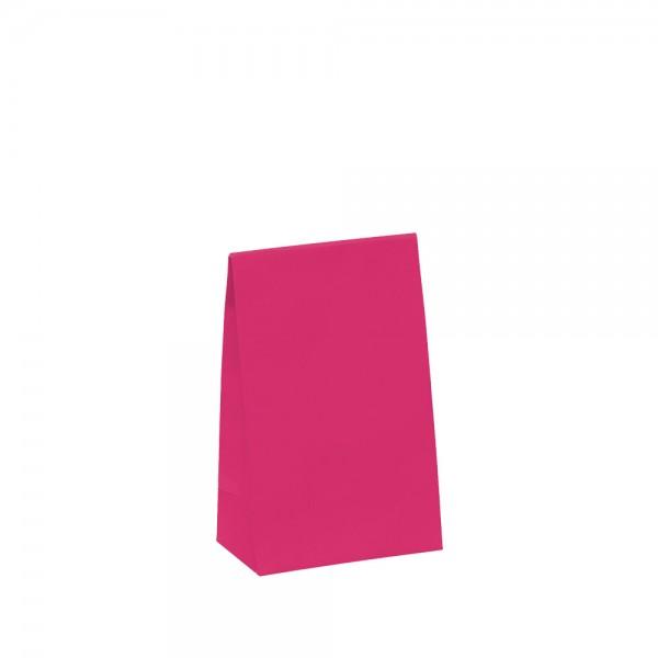 Geschenktasche 10x6x15,7+4,2cm pink