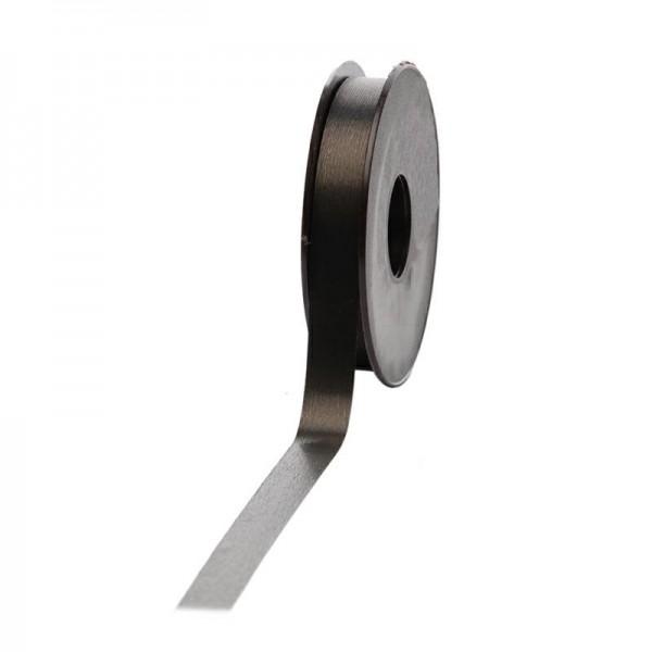 Polyband matt 16mm 45Meter schwarz