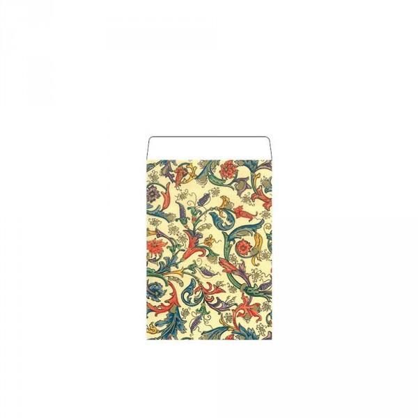 Geschenkflachbeutel Paisley 7,9x11+1,5cm