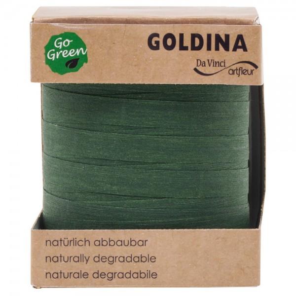 Ringelband biologisch abbaubar10mm/100Meter Grün