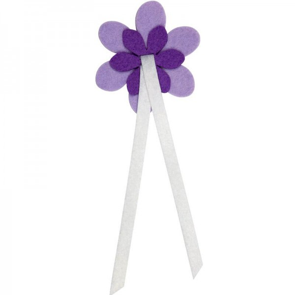 EasyFix Filzblumen lavendel/lila