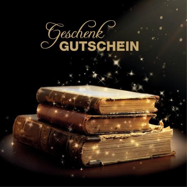 Gutschein-Klappkarte Bücherträume