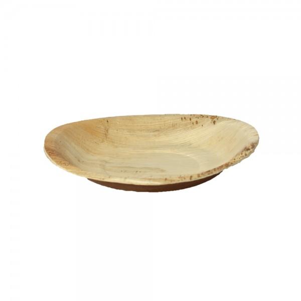 Teller rund aus Palmblatt Ø 26 cm, 2,5 cm tief