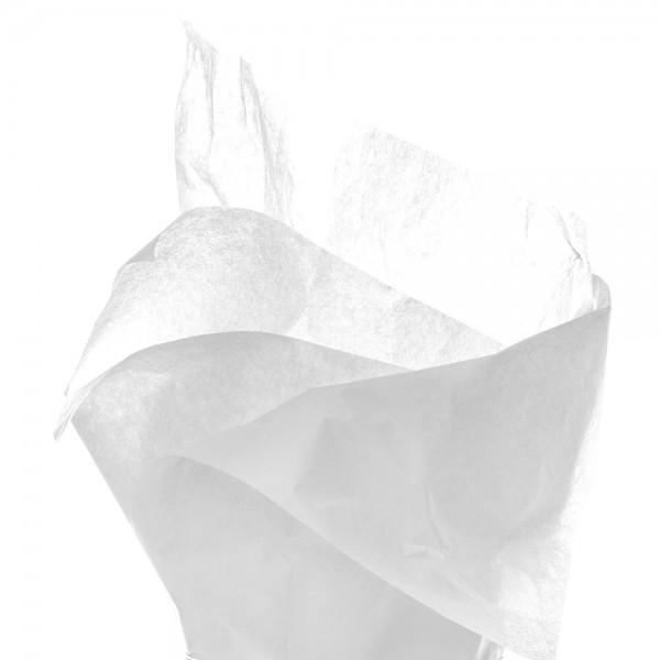 Seidenpapier Bogen 50x76 cm weiss