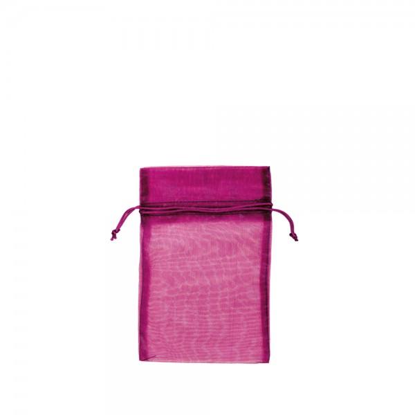 Organza Säckchen 12 x 17 cm - pink