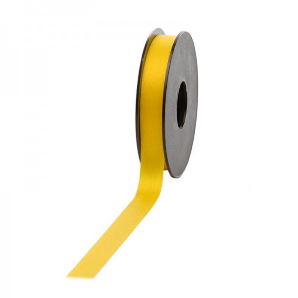 Polyband matt 16mm 45Meter gelb