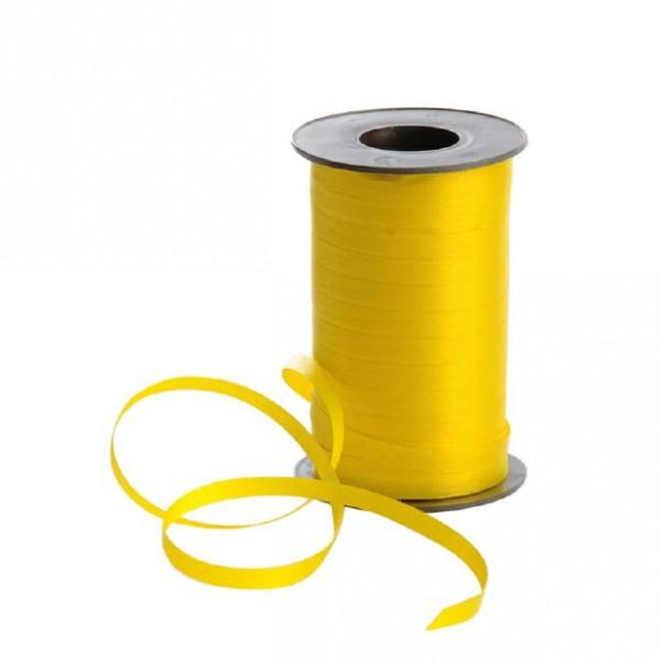 Polyband matt 7,5mm 180Meter gelb