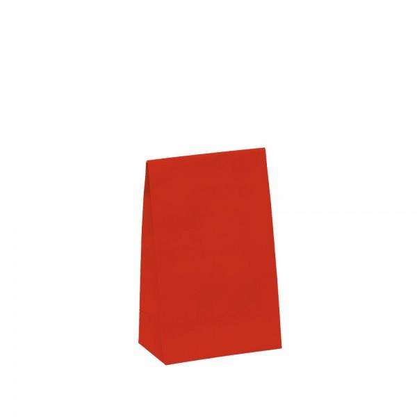 Geschenktasche 10x6x15,7+4,2cm rot