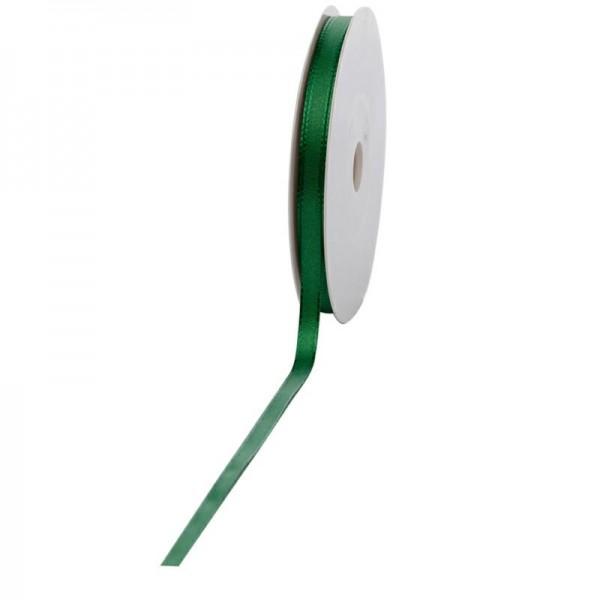 Geschenkband Stoff 8mm / 50Meter grün