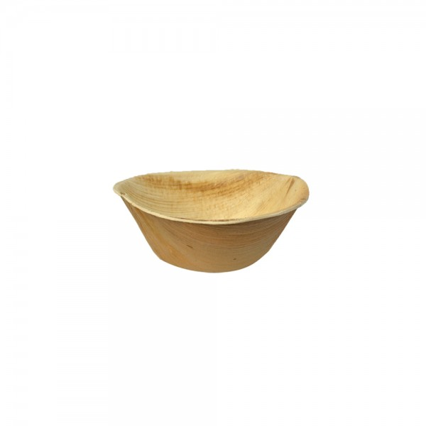 Suppenbowle aus Palmblatt 500 ml Ø 14,2 cm, Höhe 6 cm