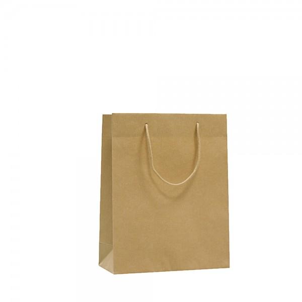 Kordeltragetasche Recycling 22x10x27+5cm